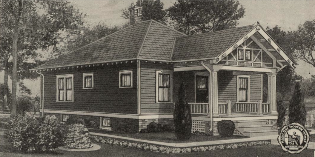 sears house joesphine in catalog 1921