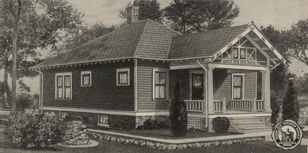 sears house joesphine in catalog 1921