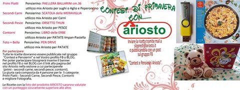 contest di primavera Ariosto