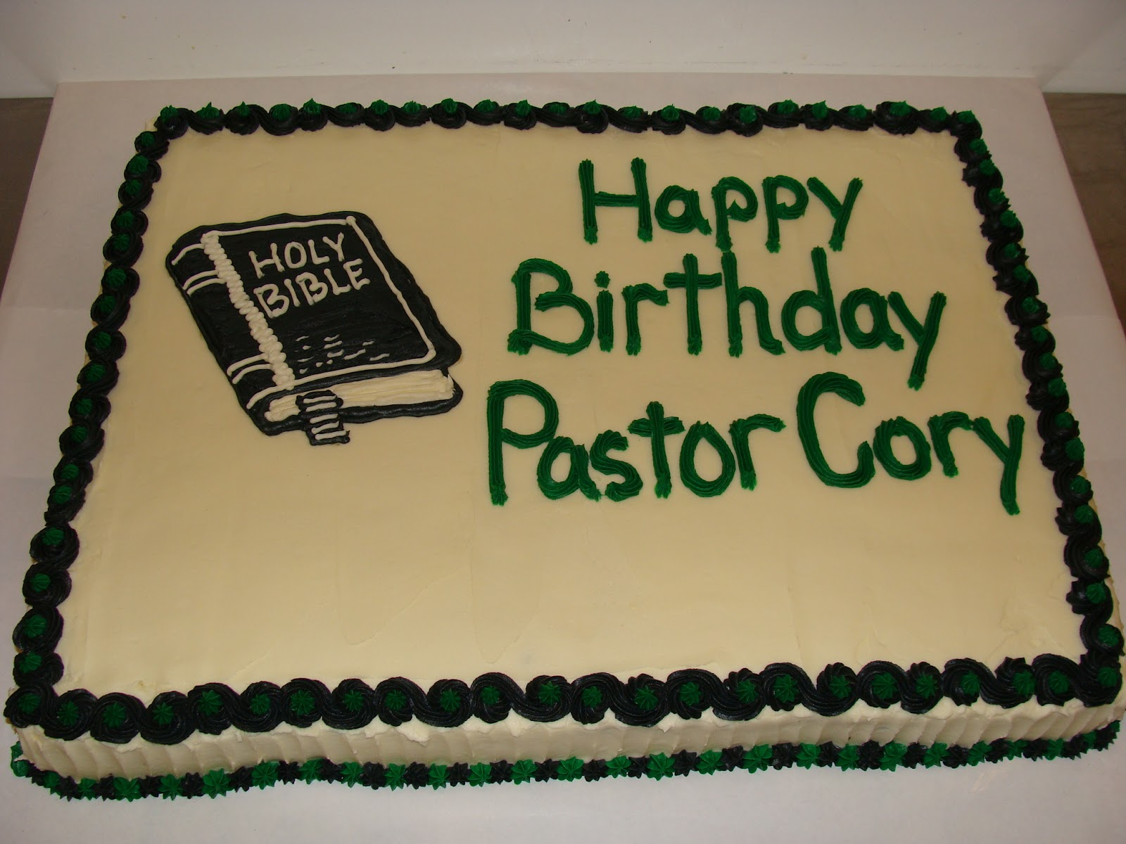 February Birthday Cakes Door County Custom Cakes And Cookies Pastor Corys Birthday Cake