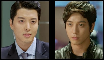 Lee Dong Gun as Kim Shin and Jung Yong Hwa as Park Se Joo