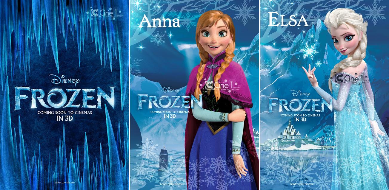 La Reine des Neiges [Walt Disney - 2013] - Page 4 Frozen+Posters