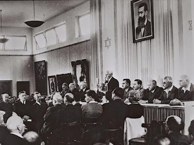 Un 14 de mayo Ben Gurion declaró la independencia de Israel