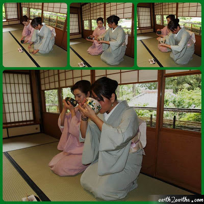 Drinking Tea Properly at Japanese Tea Ceremony