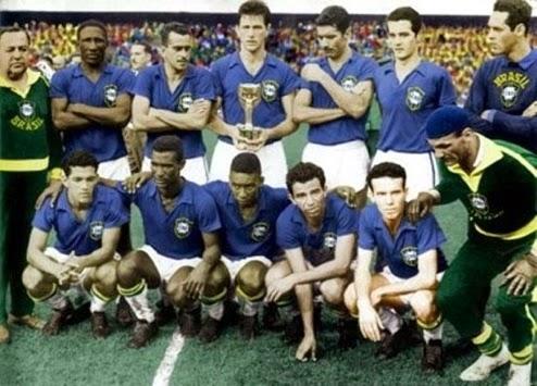 Time do Brasil campeão da copa do mundo 1958