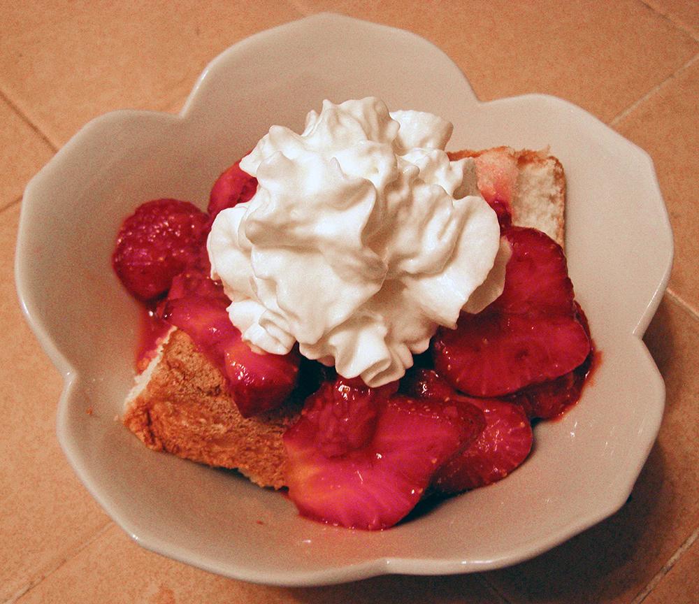 Bowl Full of Strawberry Shortcake