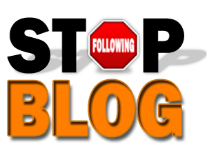 Stop Following Blog