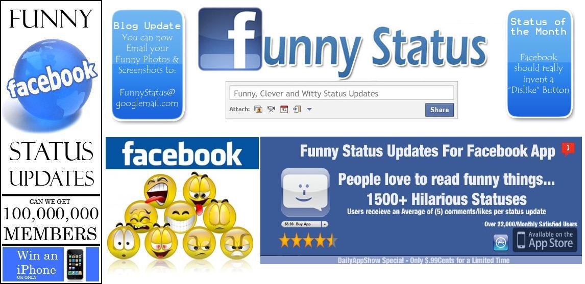 Tulisan Terkait Status FaceBook Lucu : Facebook, Kata Lucu