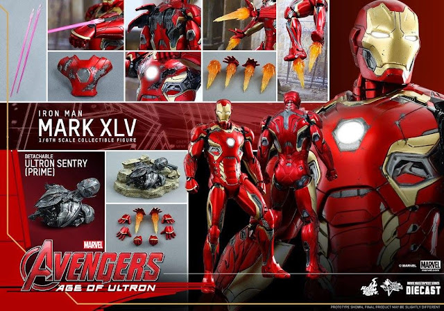 diecast material action figures hot toys