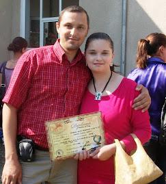 Cu eleva  Alina-Georgiana Grigore, festivitatea de premiere, 17.06.2011...