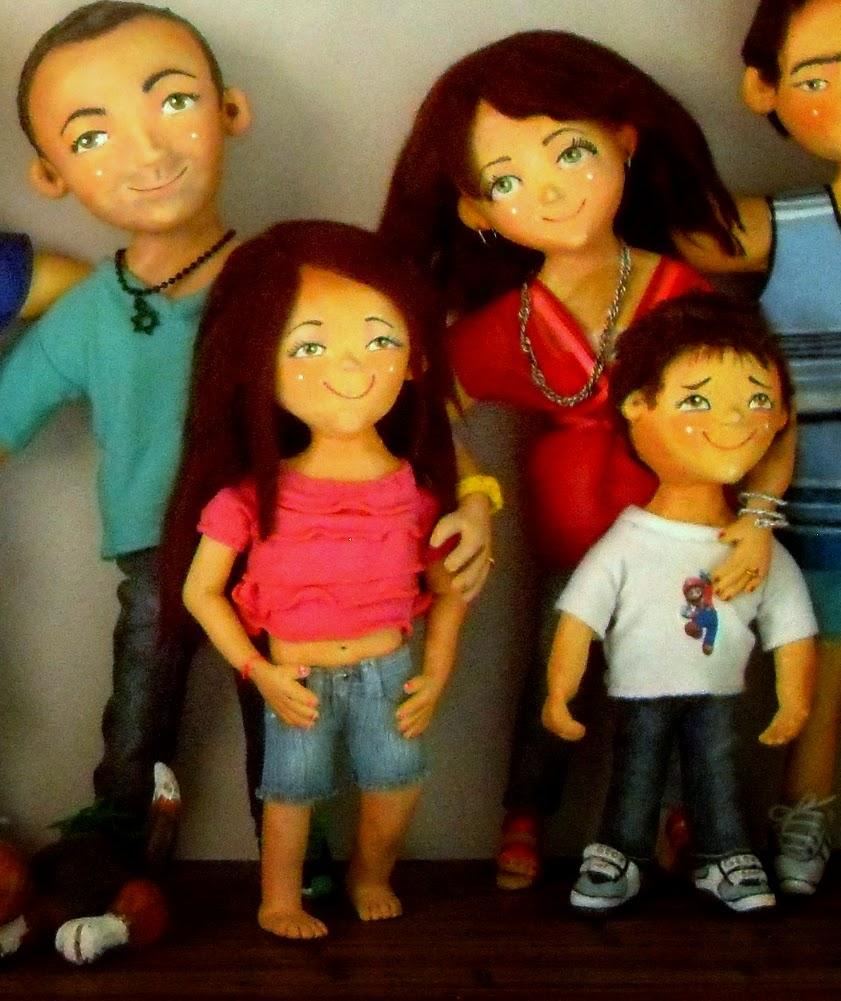 Familia Personalizada en un Cuadro