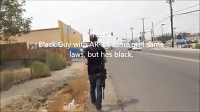 Screen Grab from Open Carry Video