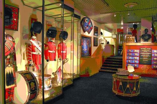 Guards Museum at Wellington Barracks, London