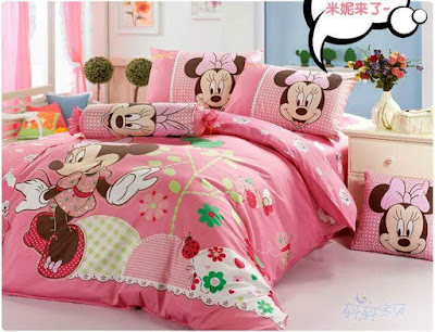 Mickey & Minnie Mouse Bed Sheets