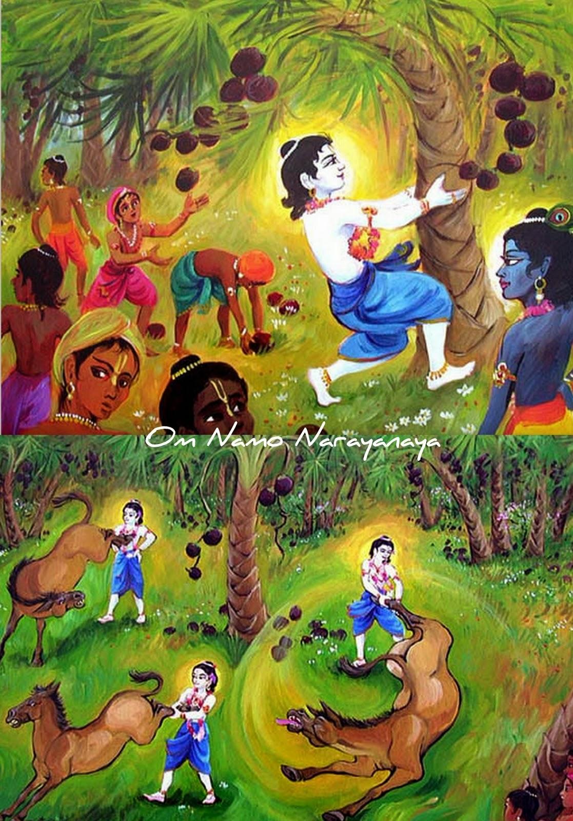 கண்ணன் கதைகள் (41) - தேனுகாசுர வதம்,கண்ணன் கதைகள், குருவாயூரப்பன் கதைகள்,