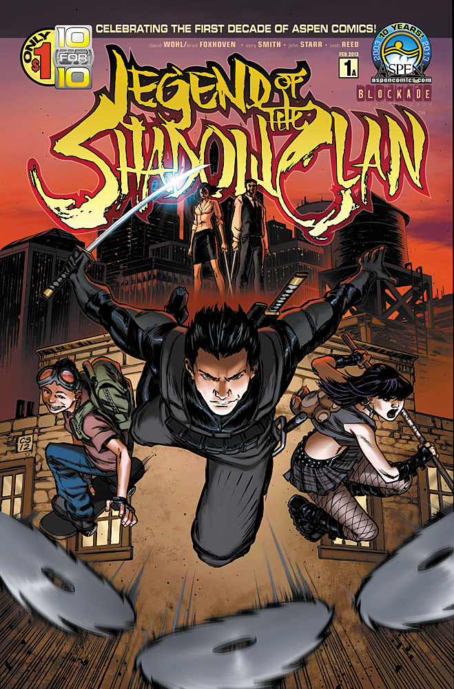 Preview: Legend of the Shadow Clan #1