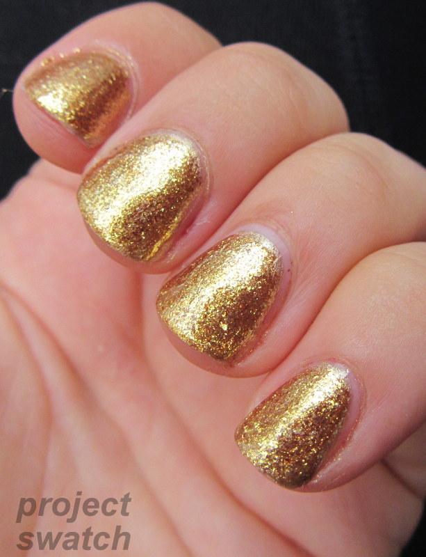 Opi Goldeneye FOTD with Wet n Wild &...