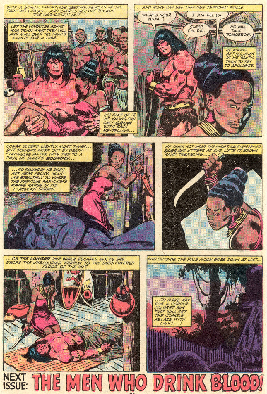 Conan the Barbarian (1970) Issue #101 #113 - English 18