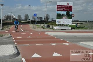 Nijmegen, Schnellradweg Nijmegen - Beuningen