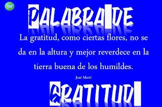 imagen palabras de gratitud