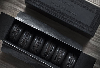 MACARONS LADUREE ALL BLACK