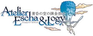 atelier escha & logy alchemist of dusk sky logo Atelier Escha & Logy: Alchemist of Dusk Sky   Logo & Concept Art