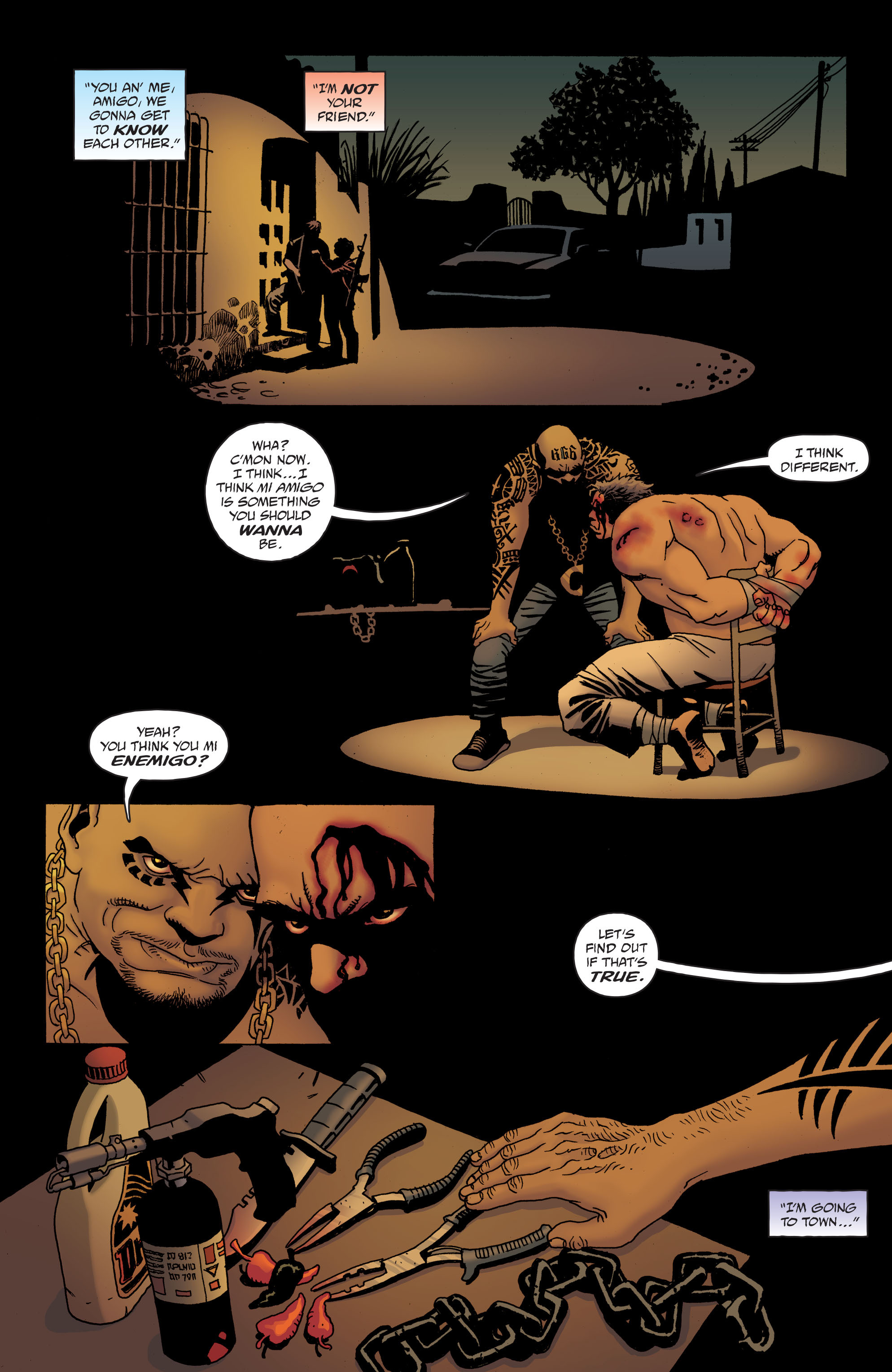 100 Bullets: Brother Lono Full Page 146