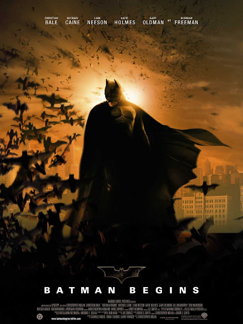Poster Batman Begins ( 2005 )