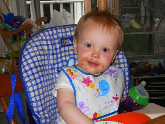 Baby Beards! by Eric VanRaepenbusch - A great book to chronicle your baby and toddler's eating adventures