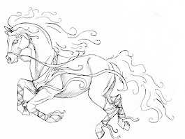 Free Printable Mustang Horse Coloring Pages