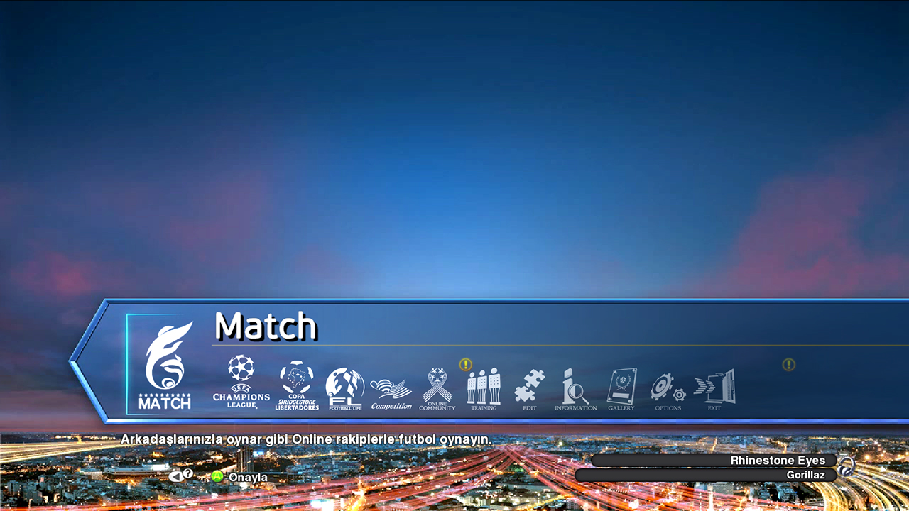 New Menu Animation PES 2013 by Grkn Design®
