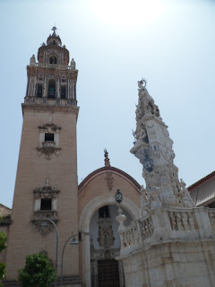 Ecija church tower, Southern Spain