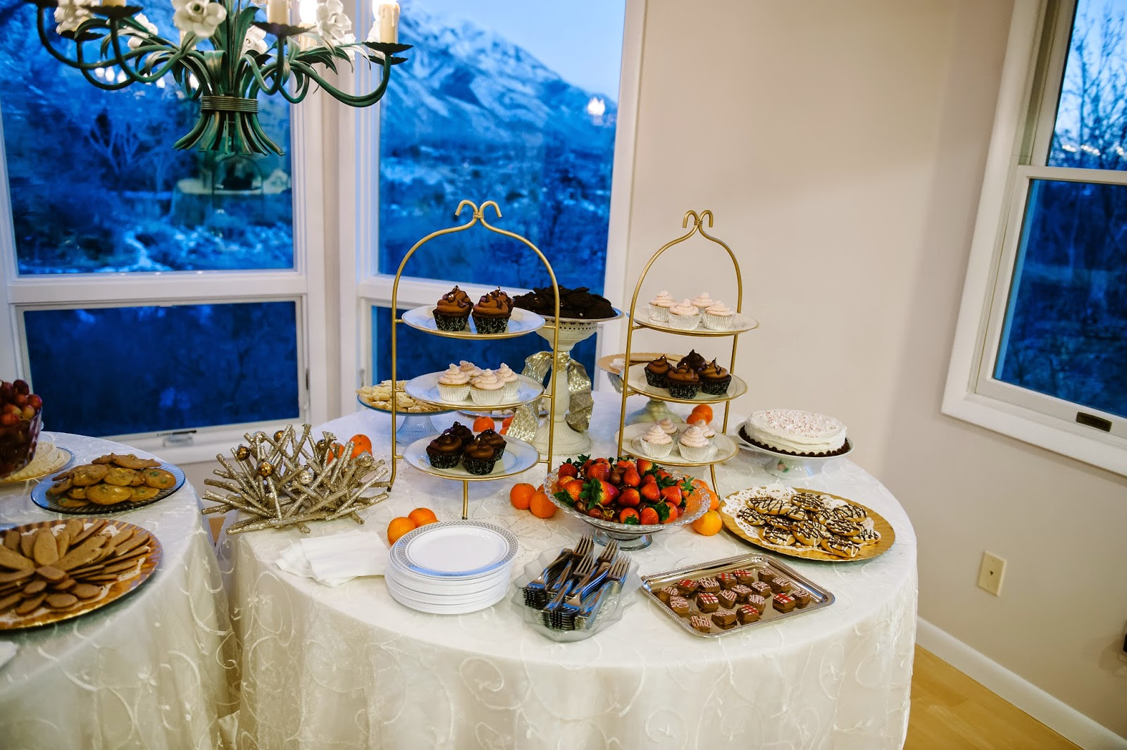 Gluten-Free Dessert Wedding Reception