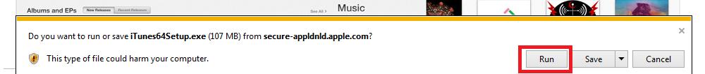 Apple iTunes download