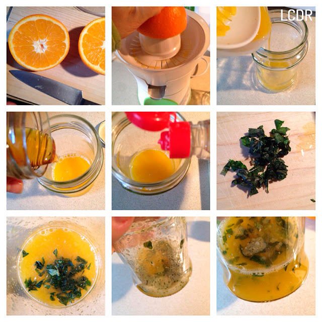 Receta de naranjas aromatizadas en su jugo 01