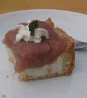 Rhabarber-Vanilleschmand-Torte