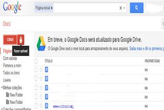 dicas para escrever artigos no google docs