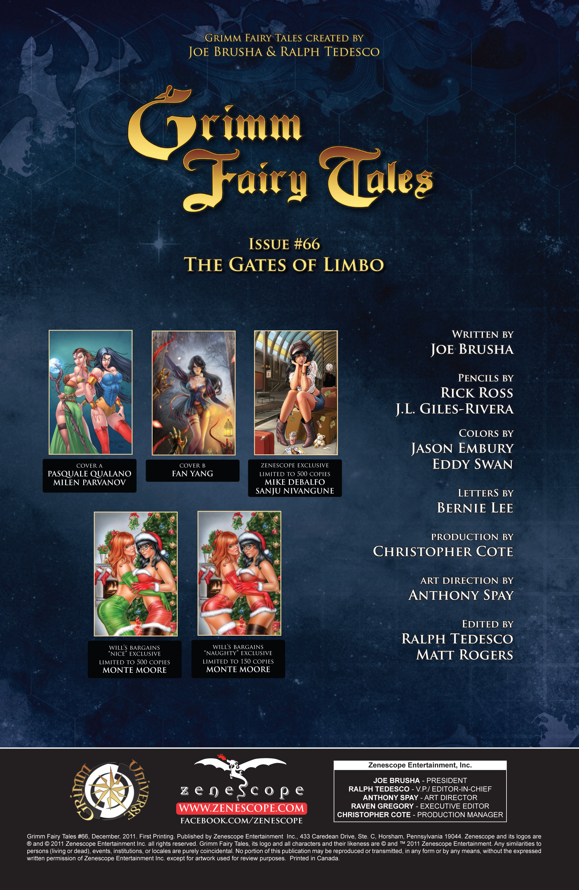 Grimm Fairy Tales (2005) Issue #66 #69 - English 2