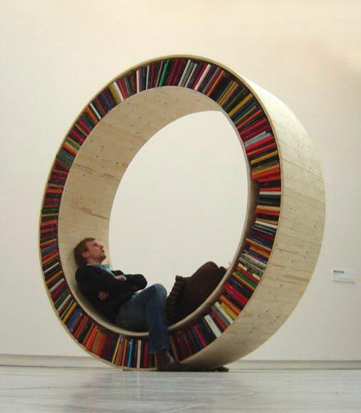 unique book storage