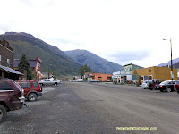 Back streets of Silverton, CO