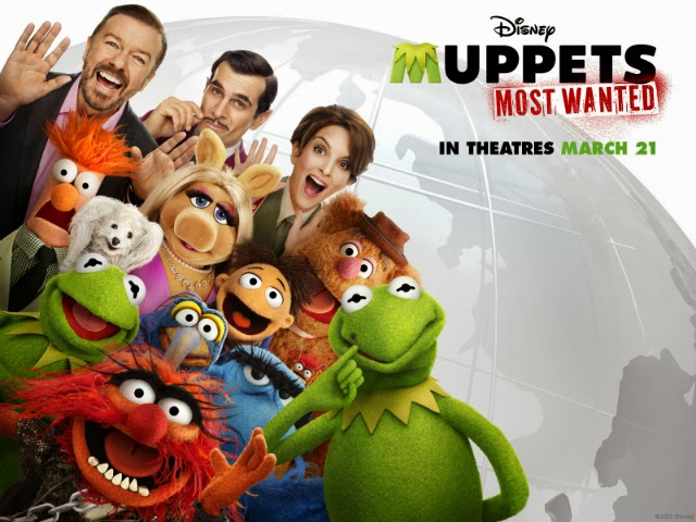 """La película """"Muppets Most Wanted"""""""