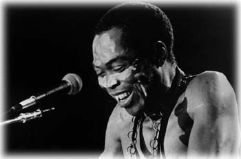 Afrobeat King and human right activist Fela Anikulapo Ransome Kuti