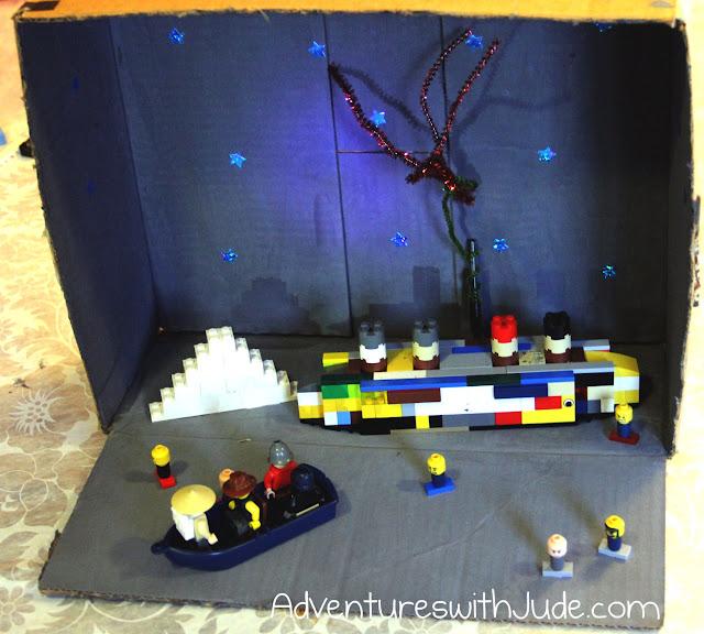 Titanic Lego Diorama