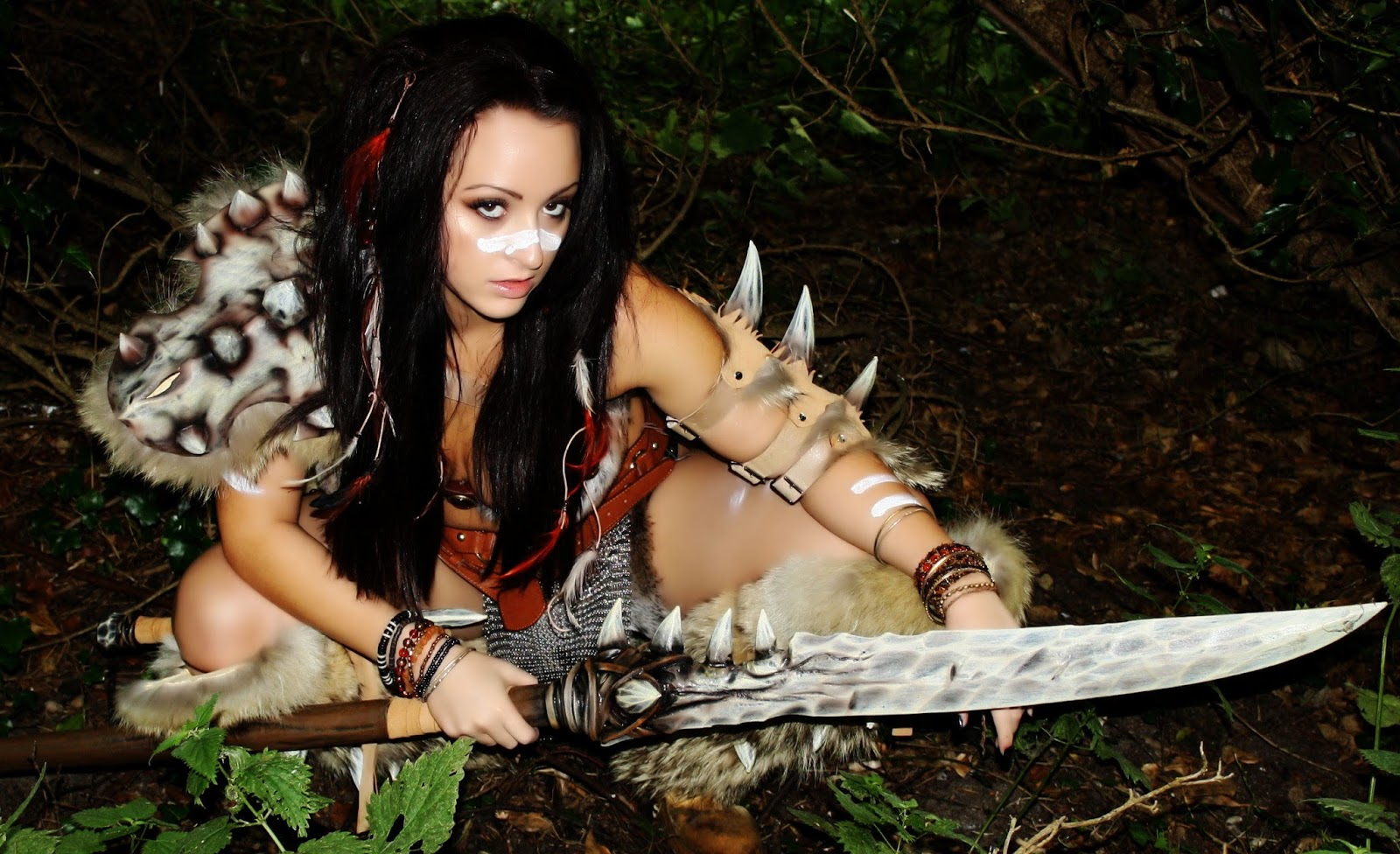 Nude and sexy barbarian girls pic hentai photo