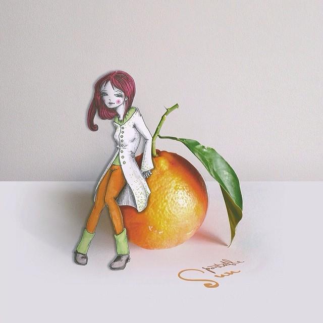 Adoráveis e vividas ilustrações de Cinzia Bolognesi