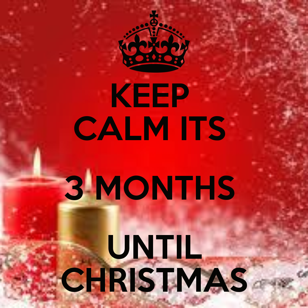 Note-able Scraps: THREE Months till Christmas!!!