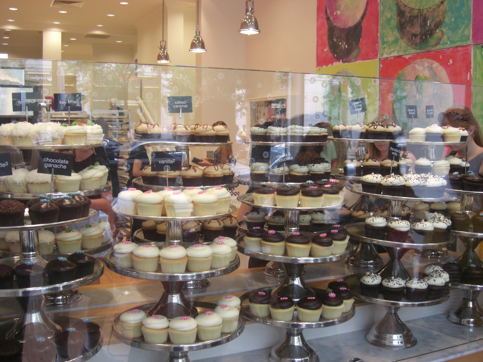 Cake Shop In Boston Downtown