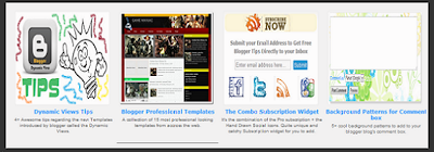 Featured Posts Slider Widget for Blogger