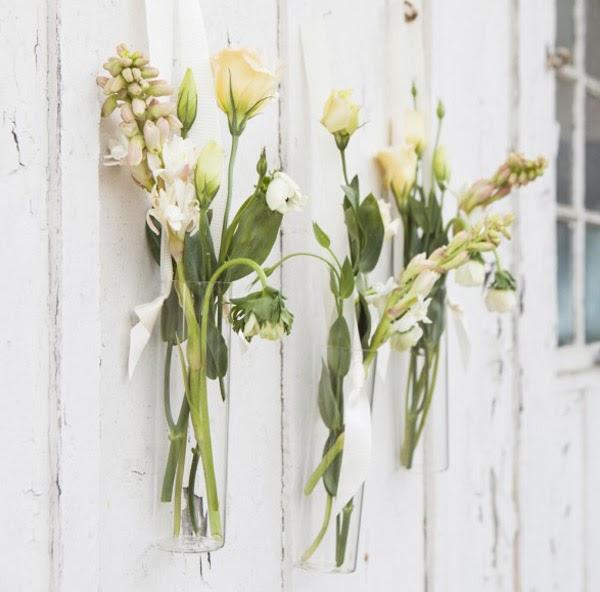diy fai da te decorazioni floreali fiori sospesi