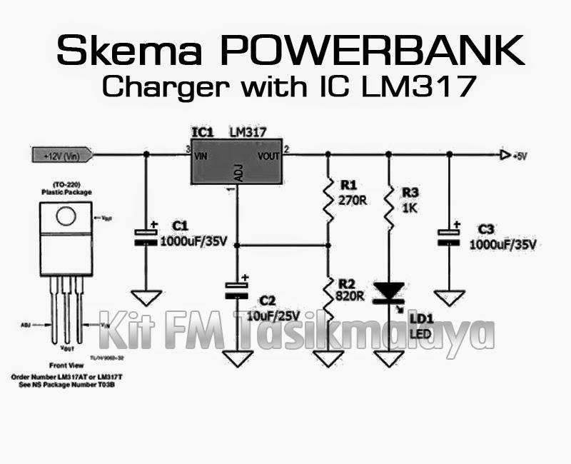 Cara Membuat Powerbank (Lengkap Dengan Skema